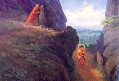 devadatta-and-buddha